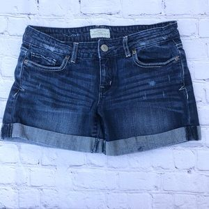 Aeropostale  Denim Shorts Size 1/2 relaxed fit.